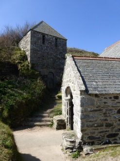 Gunwalloe: the bell tower