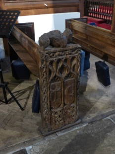 Madron: a C15 bench end