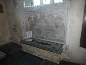 Lanteglos by Fowey: the Mohun tomb