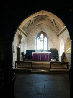 Tintagel: chancel