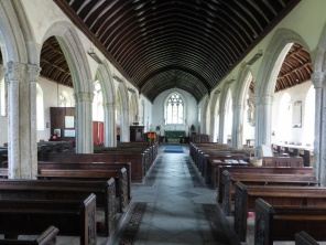 Cardinham: the nave