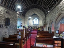 Towednack: the nave