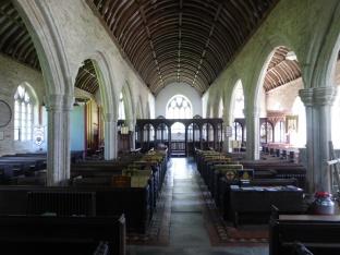 Altarnun: the nave